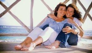 María del Mar y Heather