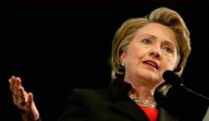 London Pride Hillary Clinton