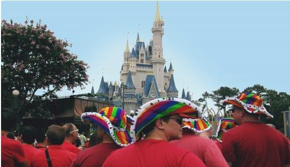 from Langston gay pride week in disney world