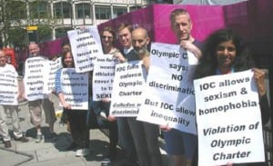 Peter Tatchell Olimpiadas Londres
