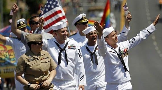 San Diego Pride militares