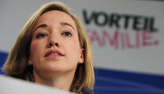Kristina Schröder Alemania