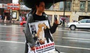 Madonna Rusia protesta