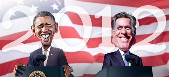 Obama Romney boyscouts