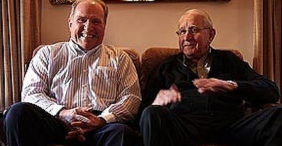 Daniel Hales y Athol Greene, lídres de la secta homófoba Brethren en Australia