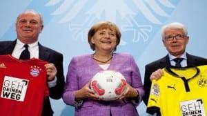 Merkel fútbol gay