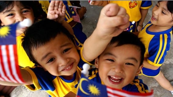 Persecución niños Malasia