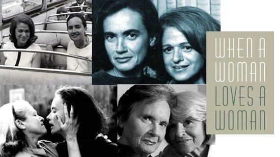 La activista LGBT Edith Windsor y su difunta esposa Thea Spyer