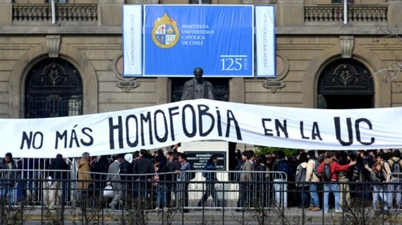 Homofobia Universidad católica