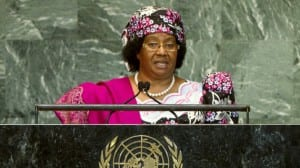 Joyce Banda homosexuales