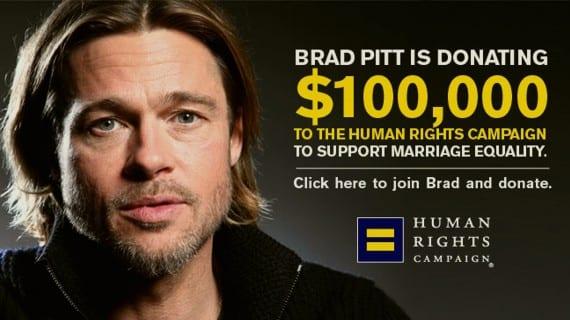 Brad Pitt HRC