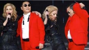 Madonna Psy concierto