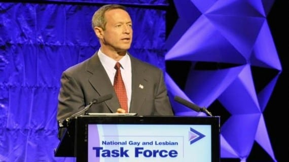 Martin O'Malley Maryland
