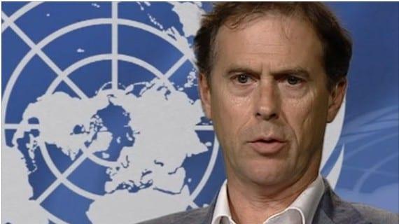 Rupert Colville, portavoz del ACNUDH (Naciones Unidas)