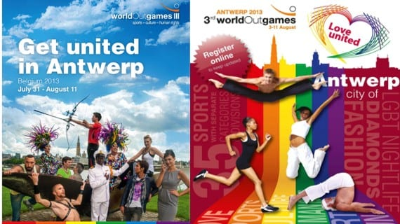 Amberes Bélgica World OutGames