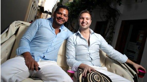 Andrés Vásquez y Felipe Cárdenas