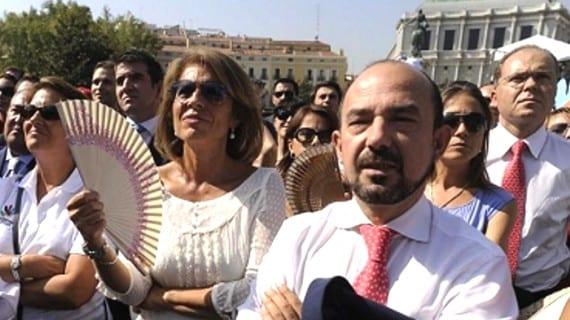 Ana Botella y Miguel Ángel Villanueva