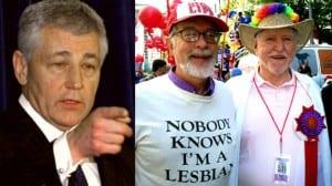 Hagel Hormel anti-gay