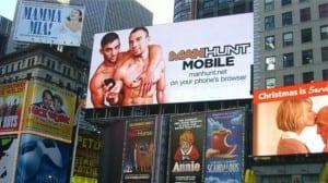 Manhunt Times Square