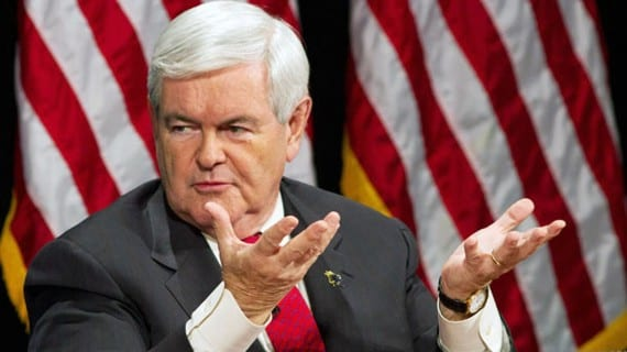 Newt Gingrich gay