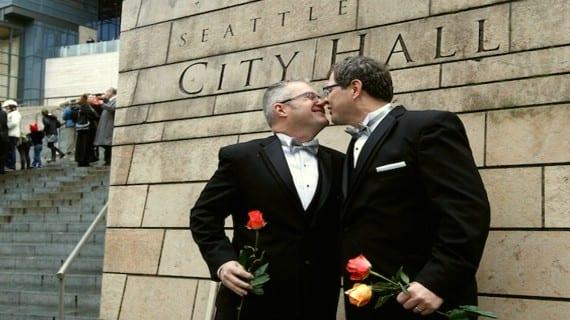 Seattle matrimonios gays