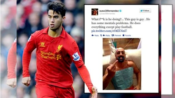Suso Liverpool gay