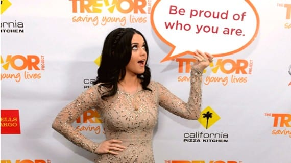 Trevor Hero Katy Perry