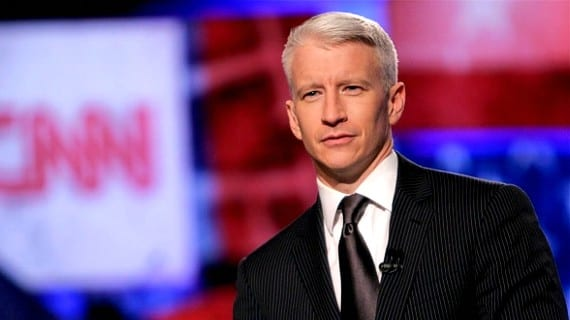 Anderson Cooper OUT