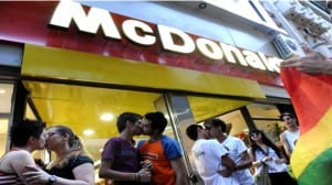McDonalds La Plata besada
