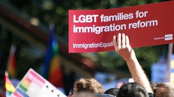 Obama inmigración homosexuales
