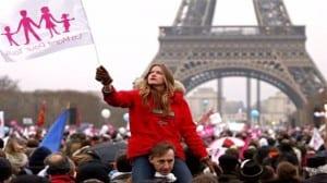 París manif tous
