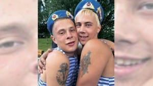 Soldados rusos gays