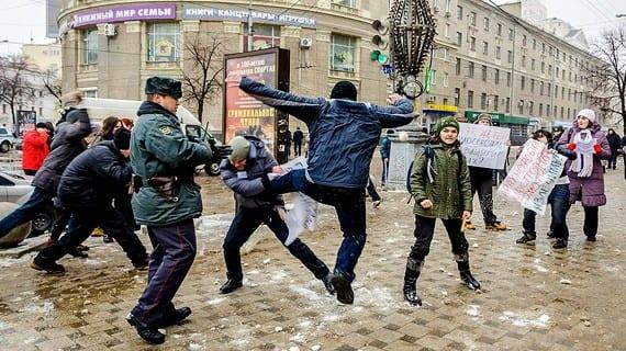 Voronezh ataque homófobo
