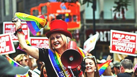 Cyndi Lauper gay icon