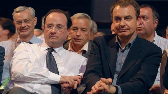 Hollande Zapatero matrimonio