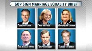 Republicanos matrimonio igualdad