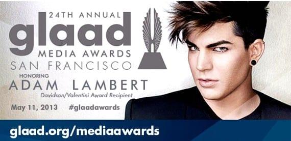 Adam Lambert GLAAD