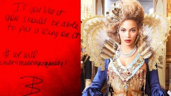 Beyonce matrimonio gay Twitter