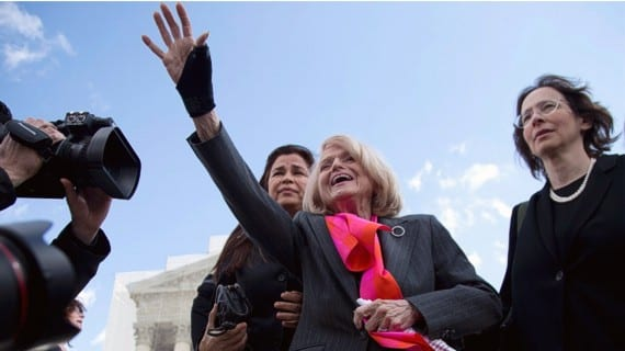Edith Windsor matrimonio gay