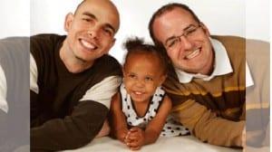 Marc, Thor y su hija, Lily
