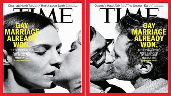 Time matrimonio gay