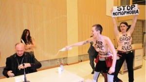 FEMEN arzobispo Bruselas