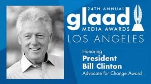 GLAAD Clinton Los Angeles