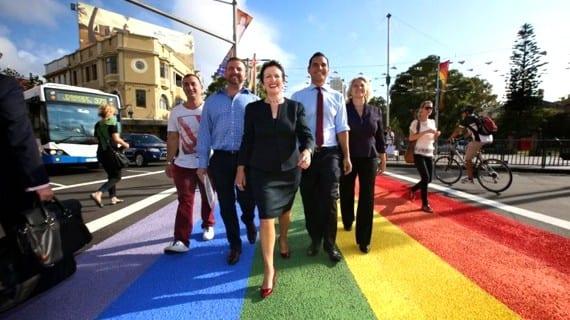 Sidney senda arco iris