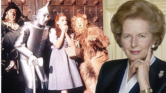 Thatcher bruja Oz
