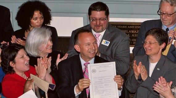Delaware matrimonio gay