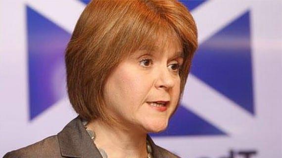 Nicola Sturgeon Escocia