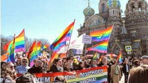 Rusia marcha gay