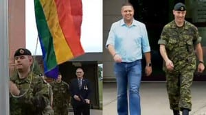 Edmonton gay flag militar