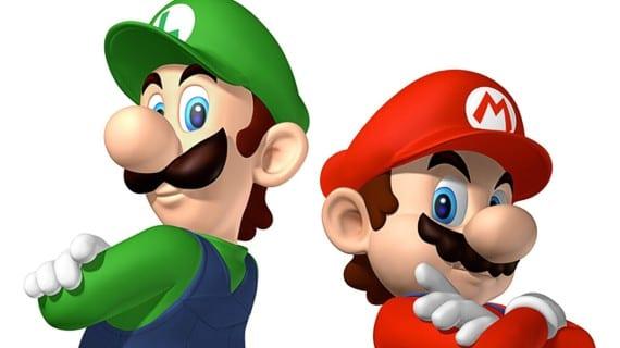 Mario Luigi Bros gay